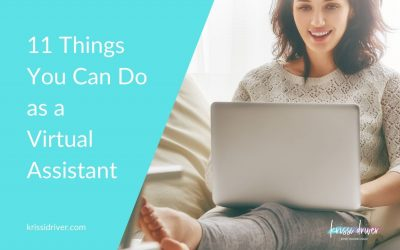 11 Things You Can Do as a Virtual Assistant