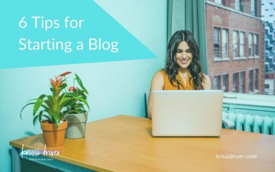 6 Tips for Starting a Blog
