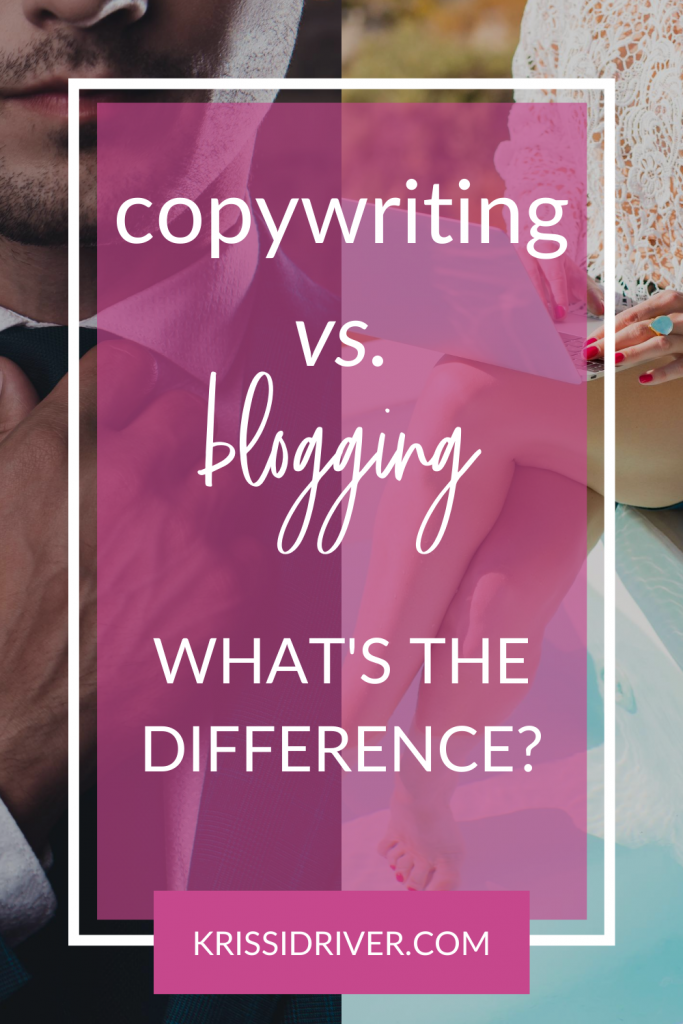Copywriting vs. Blogging vs. All the Freelance Writing Things from KrissiDriver.com